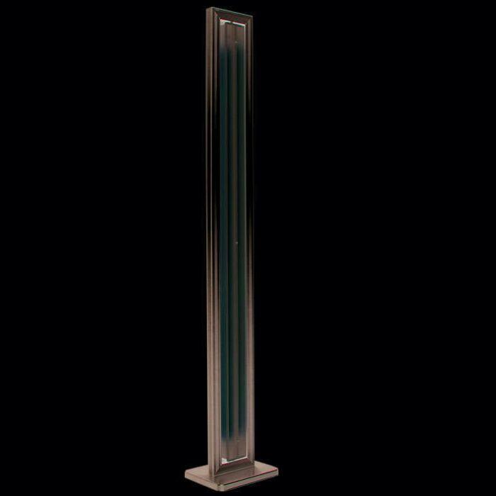 Vloerlamp-Tube-recht-zilver-2-x-35W
