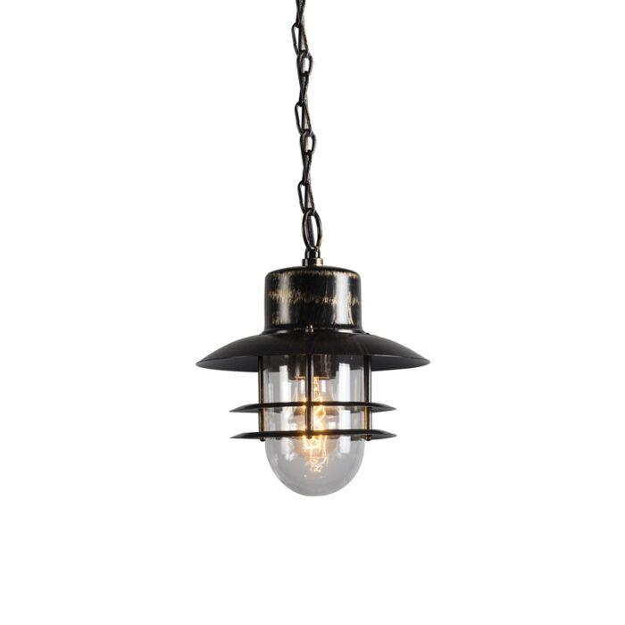 Retro-hanglamp-brons---Shell