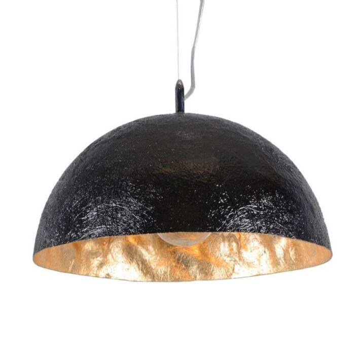 Hanglamp-Magna-40-zwart---goud