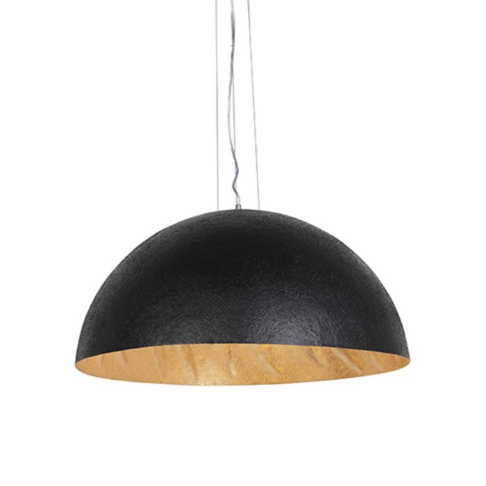 Industriële-hanglamp-zwart-met-goud-70-cm---Magna-