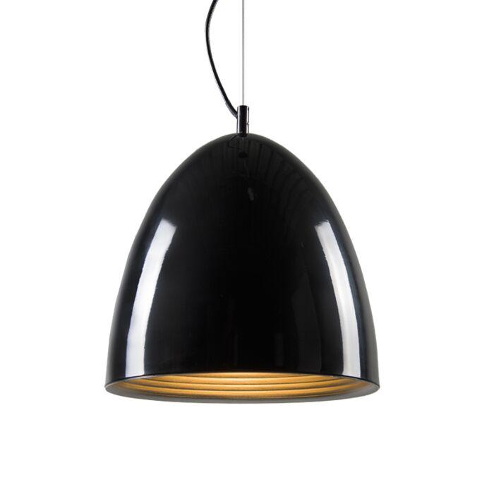 Hanglamp-Leaf-zwart