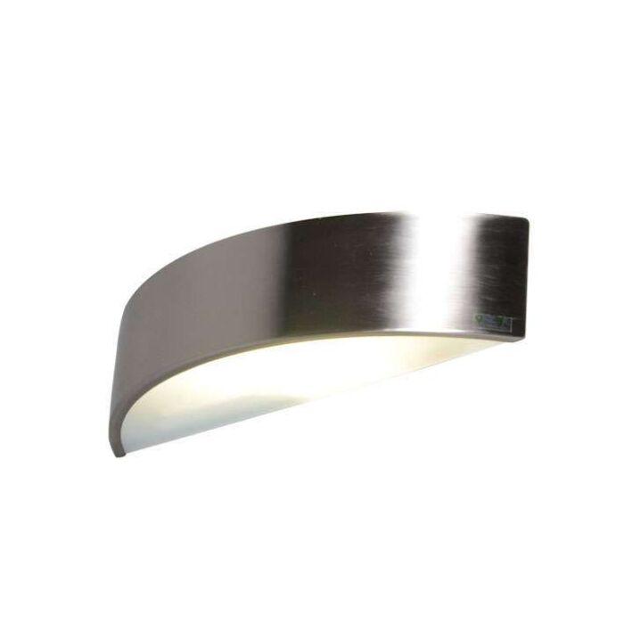 Wandlamp-Noise-staal