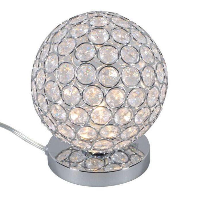 Tafellamp-Sfera-1-chroom