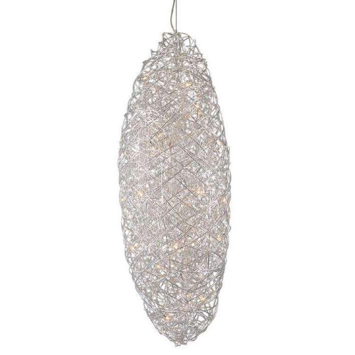 Hanglamp-Draht-Cocoon-aluminium