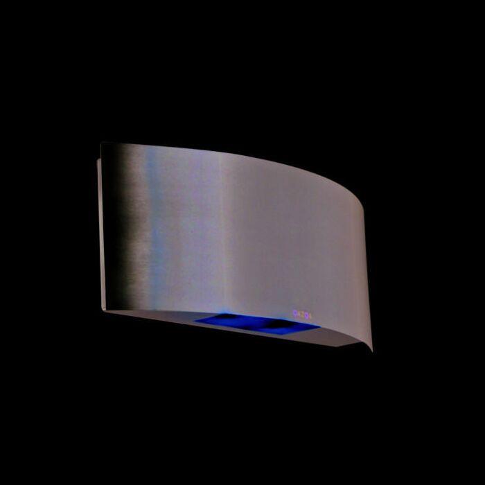 Wandlamp-Glis-LED-rvs