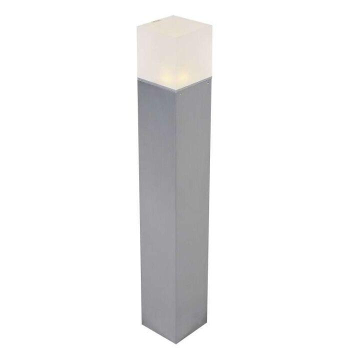 Buitenlamp-Dew-I-paal-60cm-aluminium