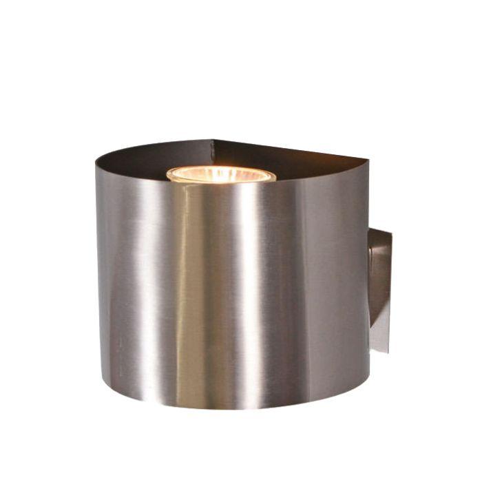Stekkerspot-Plug-rond-staal