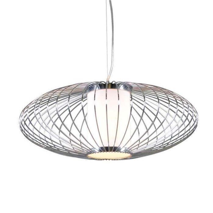 Hanglamp-Wire-Pumkin-50-chroom