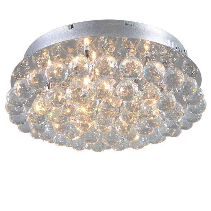 Plafonniere-Diamond-40cm-chroom