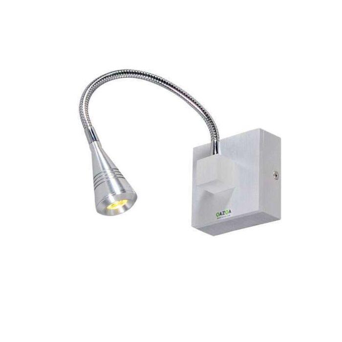 Wandlamp-Lucky-1-aluminium