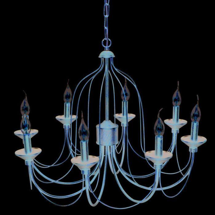 Kroonluchter-Luino-8-lichts-roestbruin