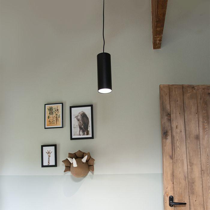 Design-hanglamp-zwart---Tubo