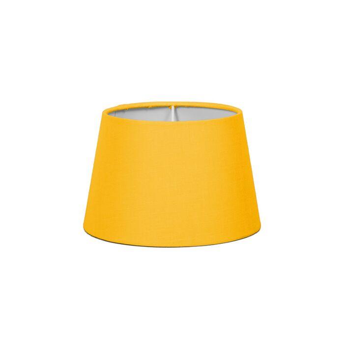 Kap-18cm-rond-SD-E27-geel