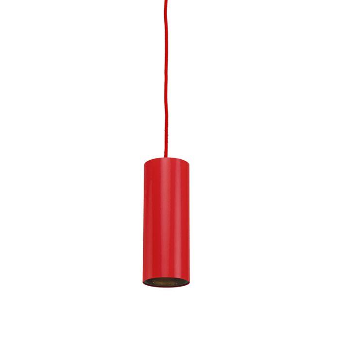 Hanglamp-tubo-1-rood