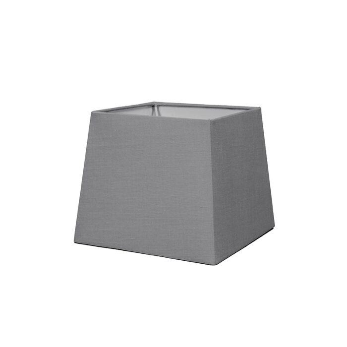 Kap-18cm-vierkant-SD-E27-grijs