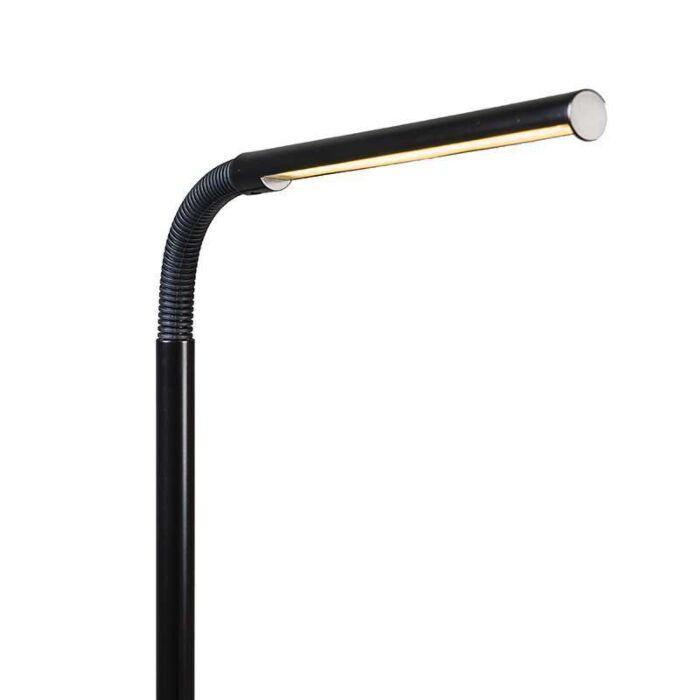Vloerlamp-Flute-LED-zwart