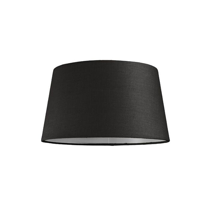 Kap-30cm-rond-SU-E27-zwart