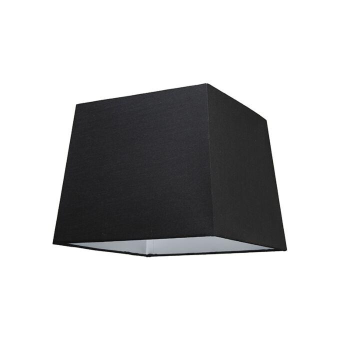 Kap-30cm-vierkant-SU-E27-zwart