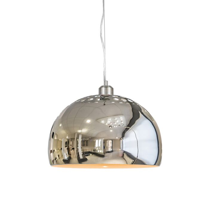 Hanglamp-Globe-33cm-chroom