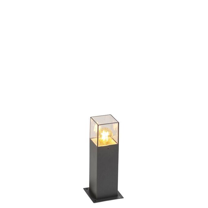 Moderne-staande-buitenlamp-30-cm-antraciet-IP44---Denmark