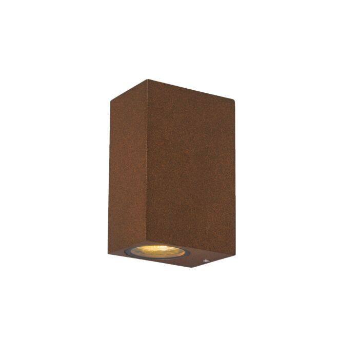 Industriële-wandlamp-roestbruin-IP44---Baleno-II