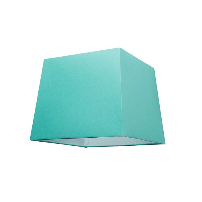 Kap-30cm-vierkant-SU-E27-turquoise