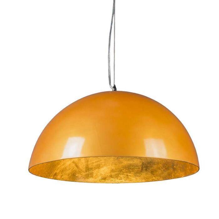 Hanglamp-Magna-Glossy-55cm-goud-met-goud