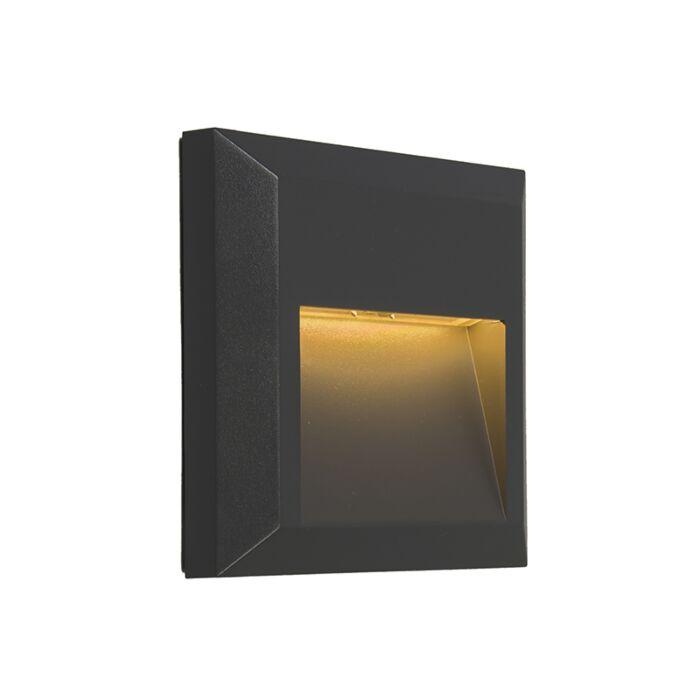 Moderne-wandlamp-donkergrijs-incl.-LED---Gem-2