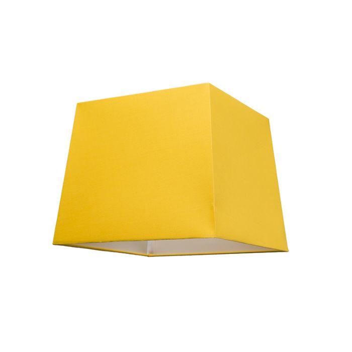 Kap-30cm-vierkant-SU-E27-geel