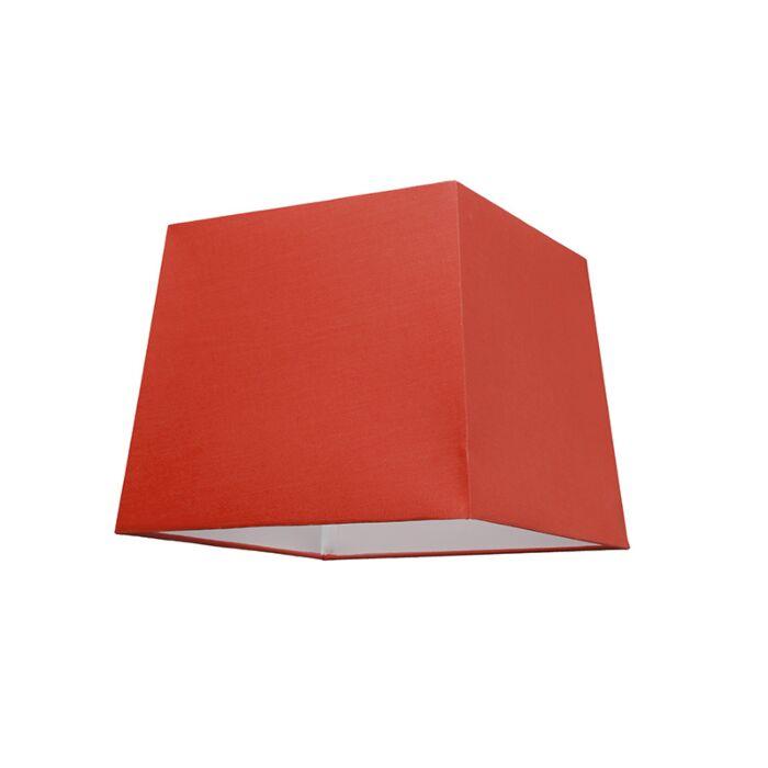 Kap-30cm-vierkant-SU-E27-rood