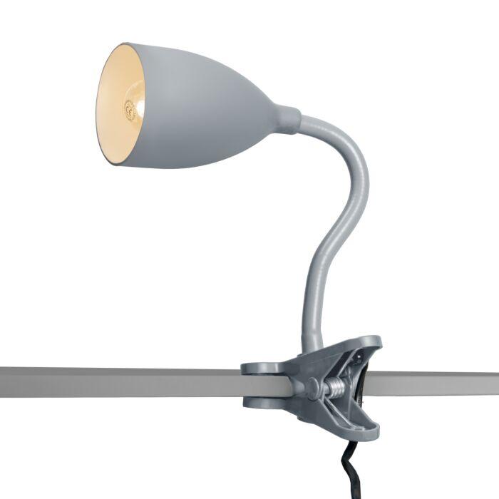 Klemlamp-Young-flex-grijs
