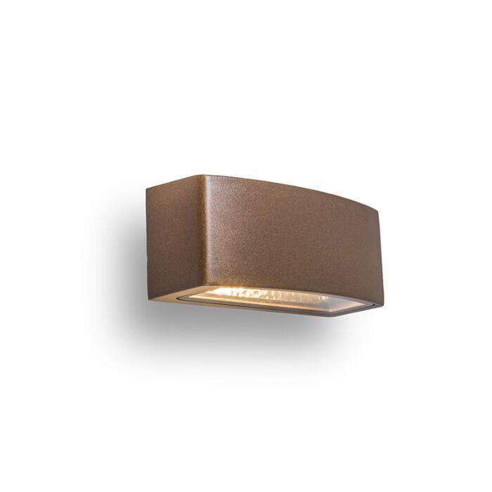 Wandlamp-Latina-E27-roestkleur