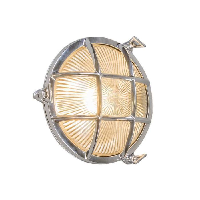 Wand/plafondlamp-Nautica-rond-chroom