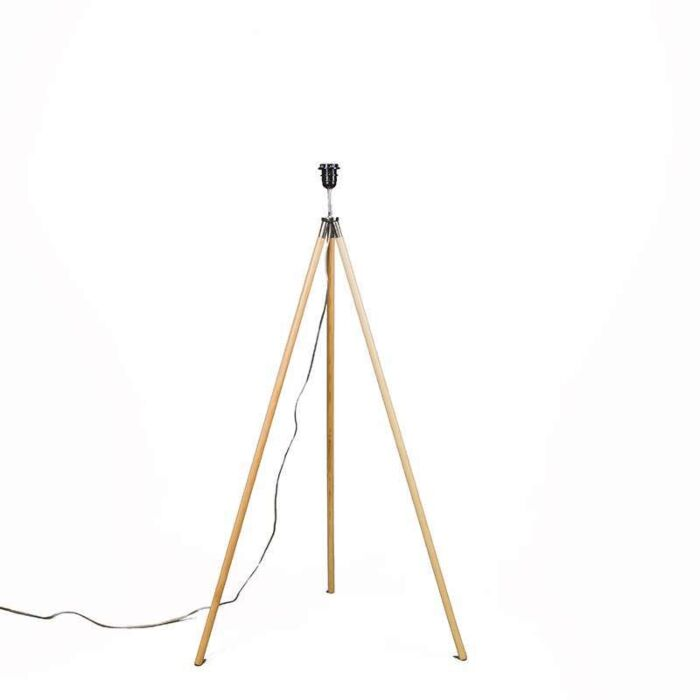 Vloerlamp-Treppiede-hout-zonder-kap