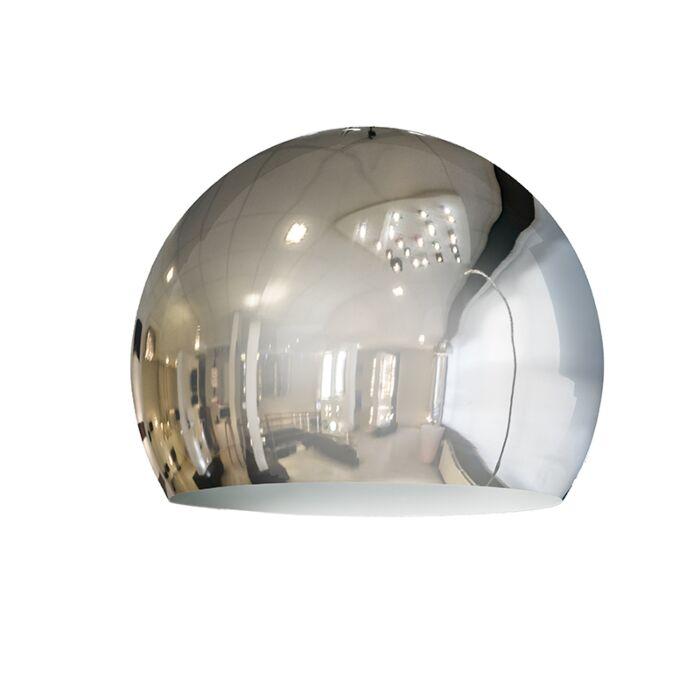 Kap-Globe-28cm-chroom