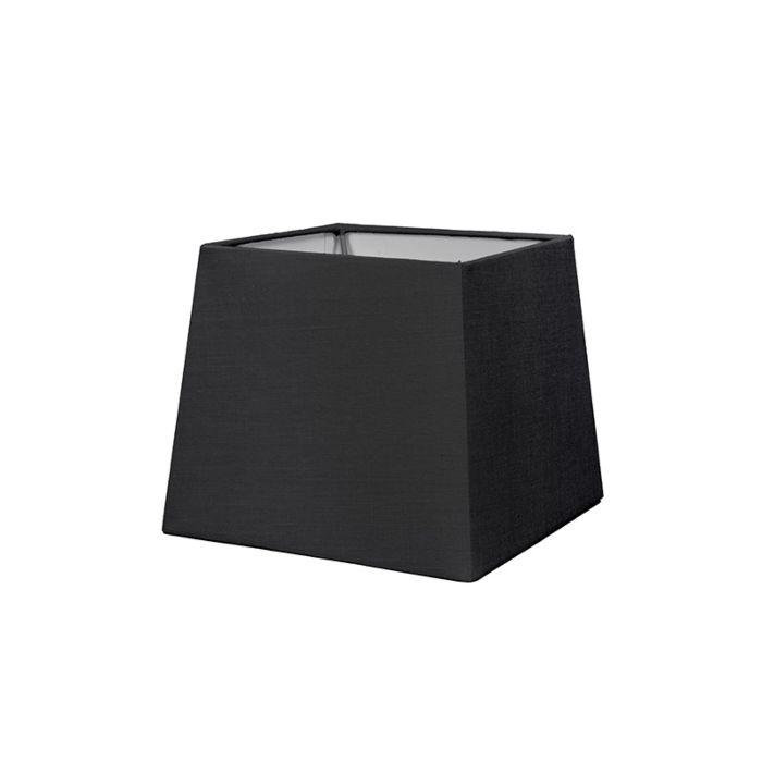 Kap-18cm-vierkant-SD-E27-zwart