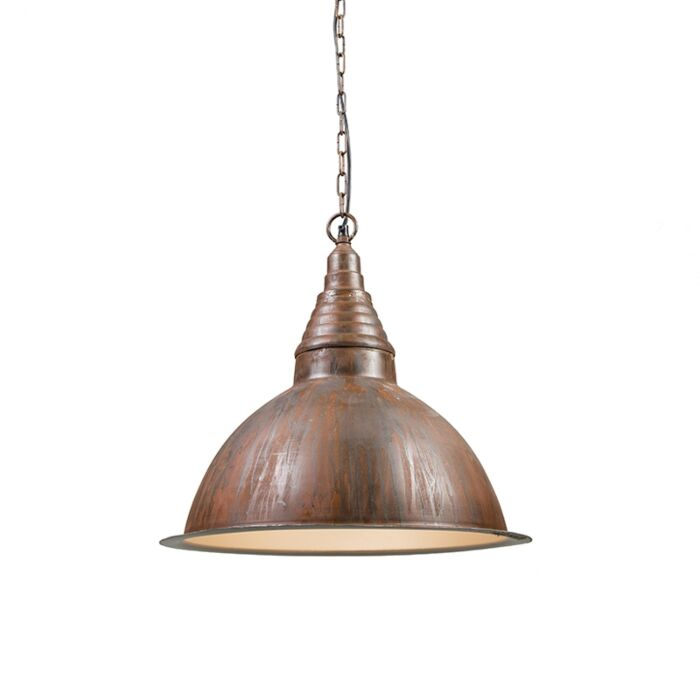 Industriële-hanglamp-roest---Factory-