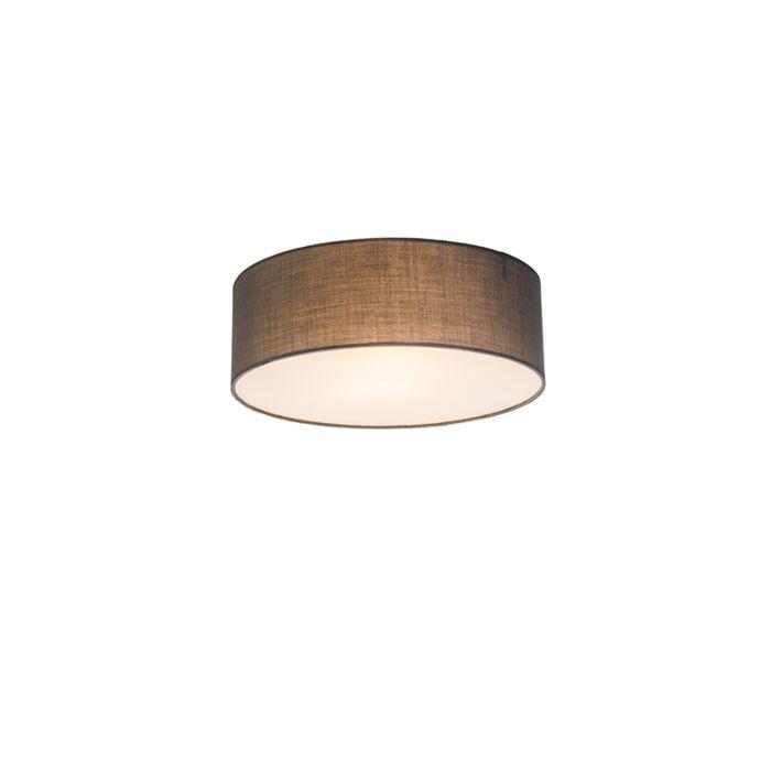 Plafondlamp-Drum-Basic-30-grijs
