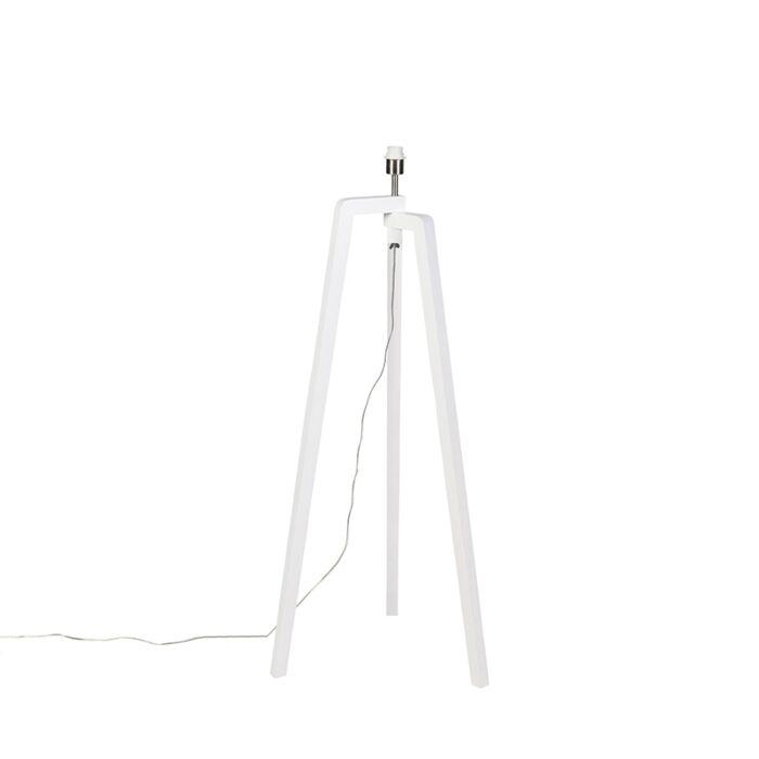 Moderne-vloerlamp-wit-zonder-kap---Puros