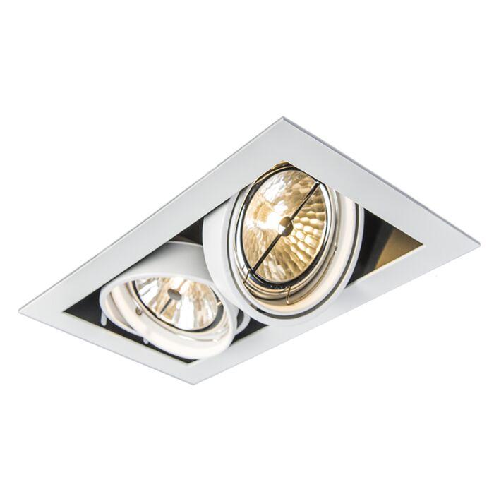 Inbouwspot-wit-verstelbaar-2-lichts---Oneon-111-2