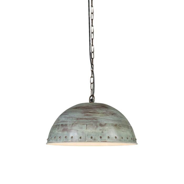 Hanglamp-Assam-antiek-groen