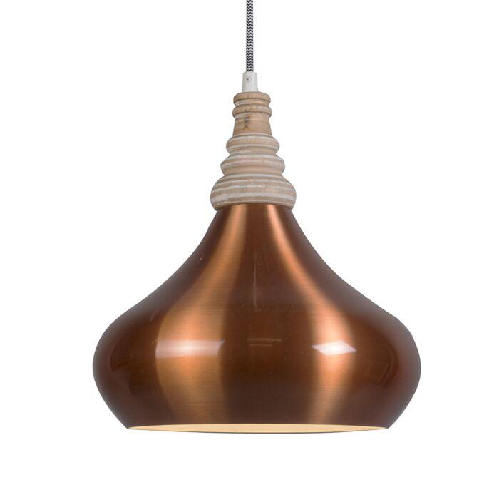 Hanglamp-Maple-koper