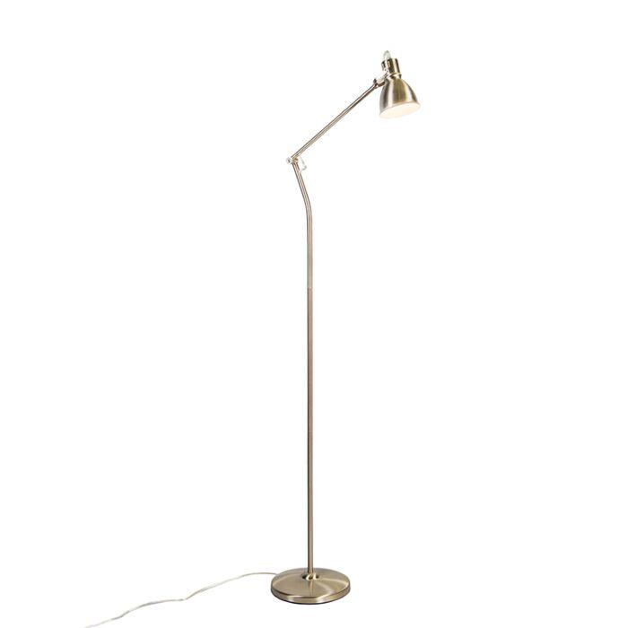 Vloerlamp-Goblet-nikkel