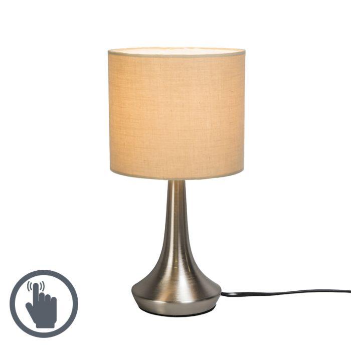 Tafellamp-Milo-1-rond-beige