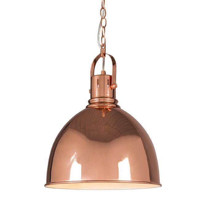 Hanglamp-Goblet-koper