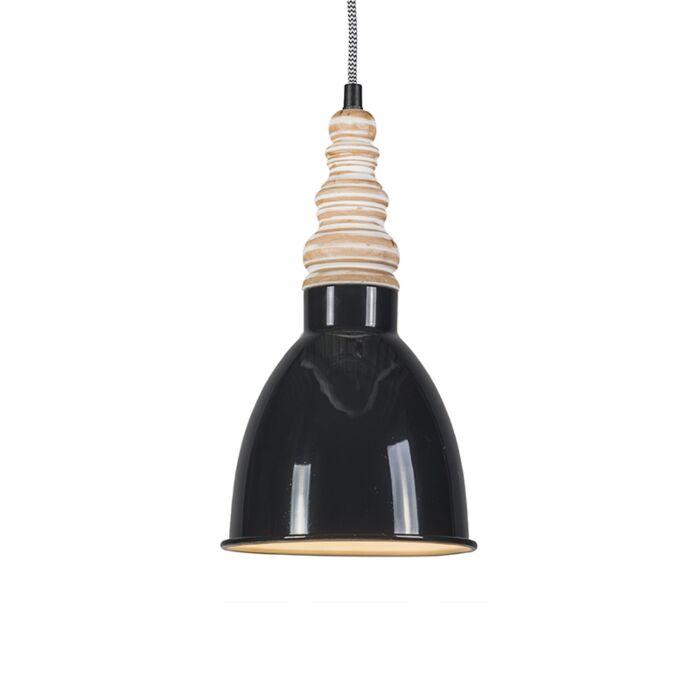Hanglamp-Oak-zwart