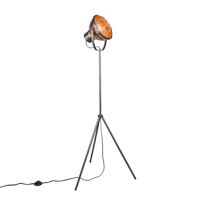 Vloerlamp-Orbita-koper
