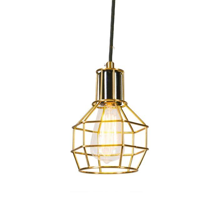 Hanglamp-Licor-goud