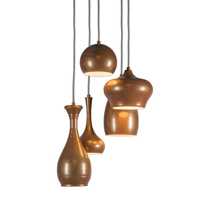 Hanglamp-Drops-5-koper