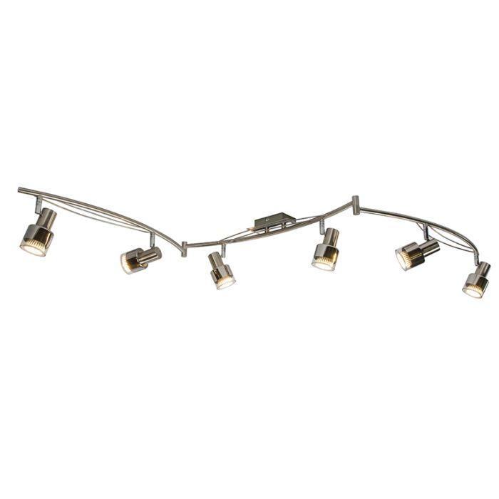 Spot-Oblongo-6-chroom-LED